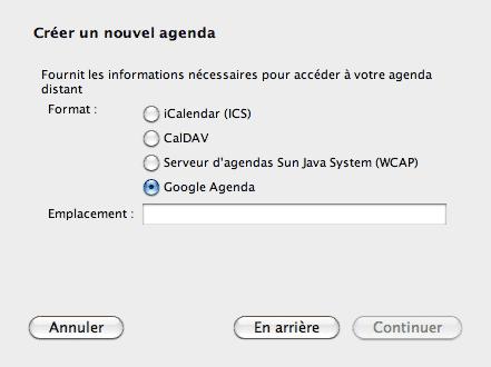 Ajouter un Agenda Google à votre lecteur de mails