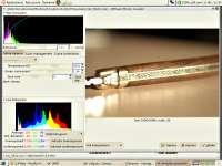 Image RAW avec UFRaw sous The Gimp